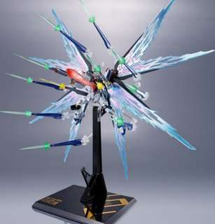 Last piece METAL ROBOT SPIRITS  Strike Freedom Gundam WING OF LIGHT /Hi-MAT FULL BURST EFFECT SET