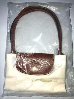 Brand new - Longchamp white bag, shoulder straps