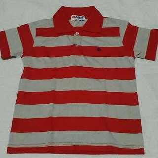 Striped Short Sleeves Shirt