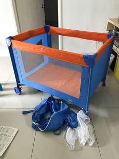 Baby Playpen Cot (Otomo) Complete Set