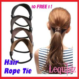 Hair Rope Tie Rubbe rband Smooth Hair Tie