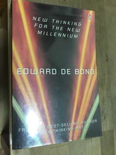 Edward de bono books