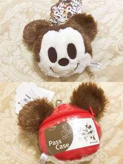 🚚 日本正品 迪士尼商店購入 米奇 伸縮票卡包