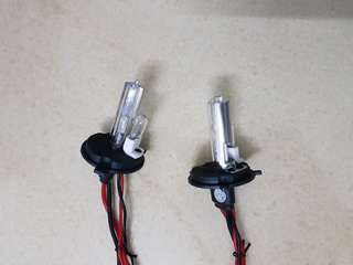 2 Set Used HID kits for car (headlamp + fog lamp)