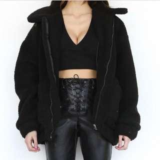Black Pixie Jacket (I am Gia)