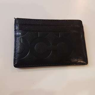 100% Authentic Coach Card Holder
