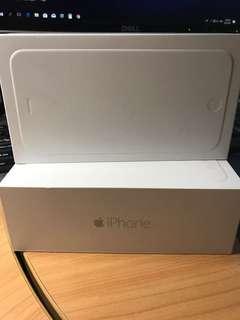 iPhone 6 empty box