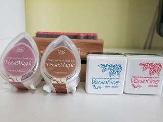 VersaFine & VersaMagic New Sealed ink pads