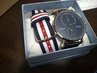 🚚 Watch + nato strap gift watch set