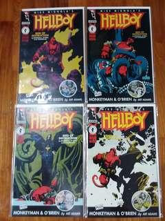 Dark Horse - Hellboy Seed Of Destruction #1 - #4