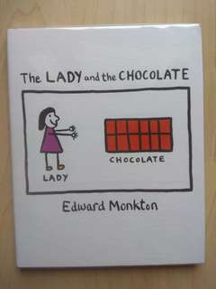 The Lady and the Chocolate (by Edward Monkton)