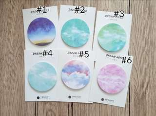 Dream post it sticky notes