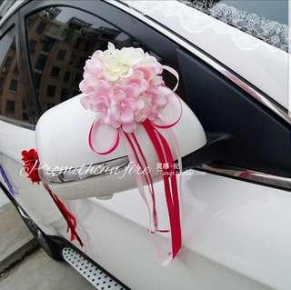 Wedding car / chair deco ornaments