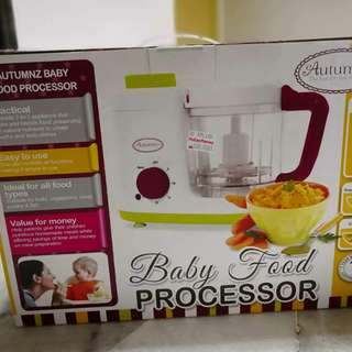 Autumnz Baby Food Processor 2 in 1 ( Steam & blend)
