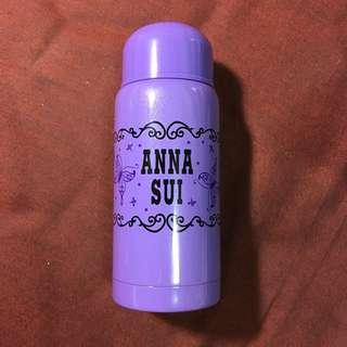 🚚 ANNA SUI 保溫瓶 紫 蝴蝶