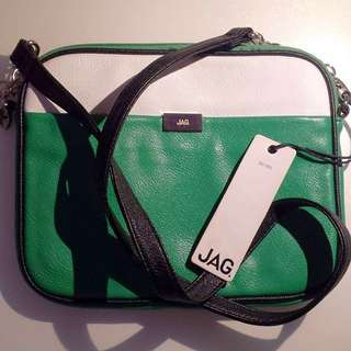 JAG Green Shoulder Bag