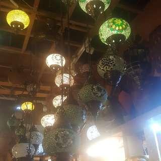 Mozaik turki lamp
