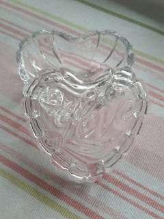 心形玻璃收納盒