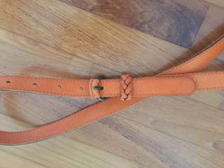 Opus leather belt orange Size 85