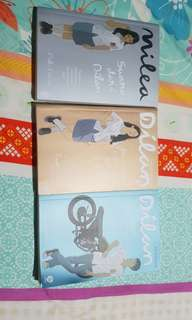 Novel Dilan 3pcs