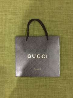 Gucci Paper Bag