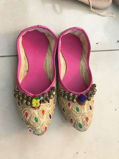 Baby girl Indian shoes