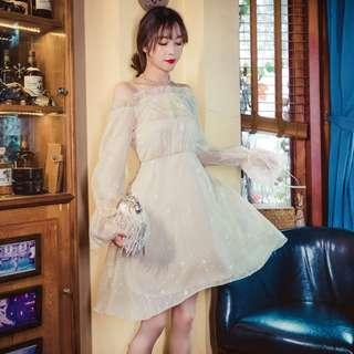 Premium high quality dinner fairy maxi dress