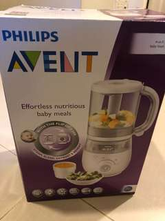 Barely used baby food maker