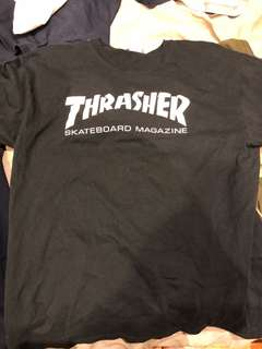 Thrasher T-shirt Black Large