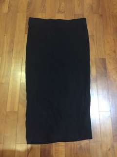 Cotton On Pencil Skirt Black