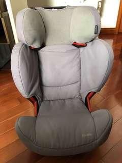 Maxi Cosi RodiFix Car Seat, Grey color, 15-36kg, isofix, $900