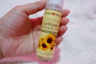 HumanHeartNature Sunflower Beauty Oil