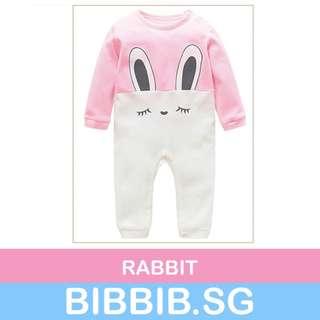Full Length Romper for Babies - Rabbit