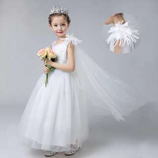 Flower girl dress 🌹 birthday 🎂 party dress 🎉🎊