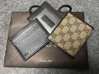 💯 % authentic new Gucci Card Holder