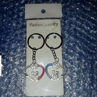甜蜜情侶/夫妻 雙雙對對鎖匙扣、掛飾3款