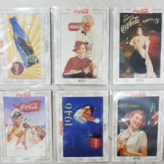 Coca Cola Cards (Set Of 15 Pcs)