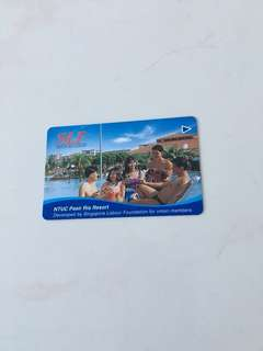 TransitLink Card - NTUC Pasir Ris Resort