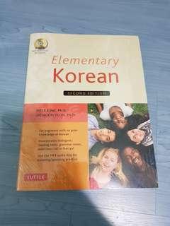 Elementary Korean with CD