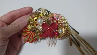 100% new Hand-made Hair Accessories for Chinese wedding