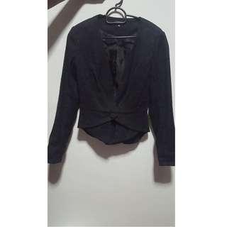 Textured patterned jacket