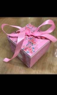 糖果餅乾包裝盒派對婚禮回禮小禮物紙盒180個