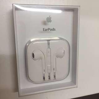 iPhone iPad iPod EarPods 有線, 不是 Lightning 接頭,現在沒有盒