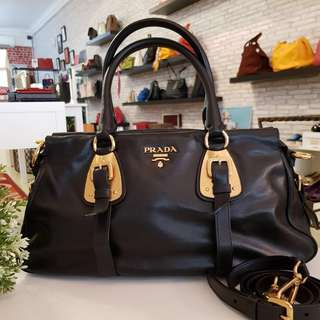 Prada bauletto BN 1903 in nero color