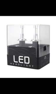 Pair of H11 Car LED Headlight 6000k Front Lamp