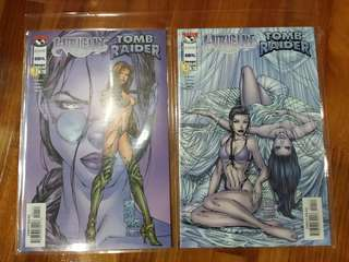 Top Cow - Witchblade Tomb Raider #1