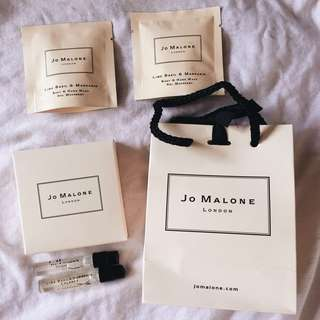 BNIB Jo Malone Cologne and Body & Hand Wash Sample Gift Set