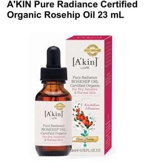 A'kin Organic Rosehip Oil