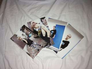 [RARE][OFFICIAL] EXO BAEKHYUN GROWL POSTCARDS (4PCS)