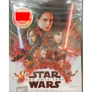 Star Wars The Last Jedi DVD